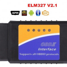 Interfata diagnoza multimarca, Bluetooth ELM 327 OBDII V2.1, Torque