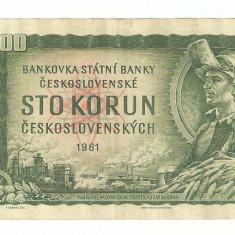 CEHOSLOVACIA 100 KORUN / 1961.