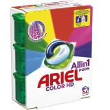 Detergent capsule Ariel All in One PODS Color, 54 spalari