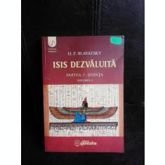 Isis dezvaluita, partea I stiinta - H.P. Blavatsky vol.I