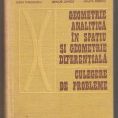 Elena Murgulescu-Geometrie analitica in spatiu si geometrie diferentiala