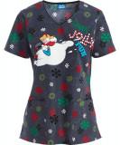 """Bluza medicala """"Jolly Frosty Fun"""" (CK6802FF)"""