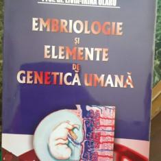Embriologie si elemente de genetica umana – Livia Irina Olaru