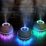 Umidificator aromaterapie Space Balls cu ultrasunete si lumina led RGB, 330 ml