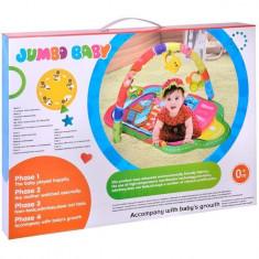 Covoras interactiv pentru bebelusi, I-JMB, multicolor