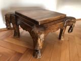 Masa,masuta veche balineza,din lemn sculptat
