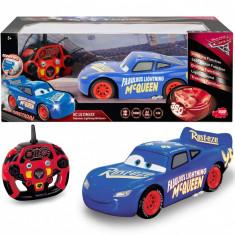 Masinuta cu telecomanda Cars 3 Fabulous Lighting McQueen scara 1:16