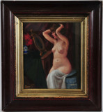 Cumpara ieftin Tablou nud scoala maghiara, Ulei, Impresionism