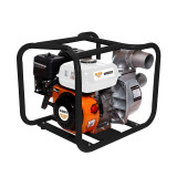 Motopompa Ruris, 5200 W, 7 CP, 48000 l/h, 3600 ml, benzina, maxim 19 m, apa curata, General