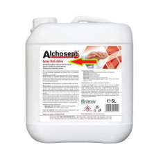 Alchosept - Dezinfectant spray pentru maini si tegumente, 5000 ml