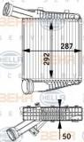 Radiator intercooler PORSCHE CAYENNE (92A) (2010 - 2016) HELLA 8ML 376 729-571