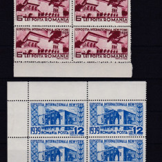 1939 L.P. 129 Bloc de patru conditie perfecta 7 lei