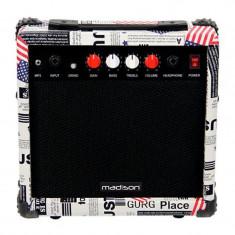 Amplificator chitara Madison, difuzor 6.5 inch, egalizator 2 benzi, 20 W