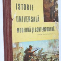 Manual pentru clasa a VII-a  Istorie universala, moderna si contemporana   1983, Clasa 7