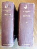 Critice 10 vol. coligate - E. Lovinescu /  R4P1F