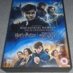 Harry Potter years 1 - 7B si Fantasctic Beasts NOU!!! sigilat subtitrare romana, DVD, warner bros. pictures