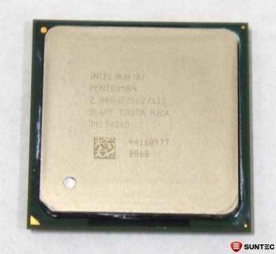 Procesor Intel Pentium 4 2.8GHz socket PPGA478 3417A265 foto