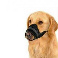 Botnita din nylon pentru animale de companie, marimea XL, negru, Gonga