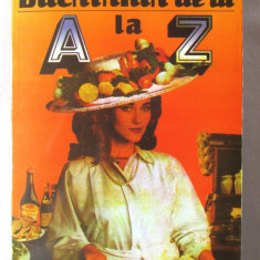 """BUCATARIA DE LA A LA Z"", Alexandru Isoveanu. Absolut noua"