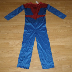 Costum carnaval serbare spiderman pentru copii de 7-8 ani, Din imagine