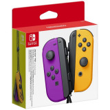 Pereche Joy-Con NINTENDO Switch, neon purple-orange