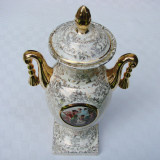 Impresionanta cupa din portelan englezesc model Empire