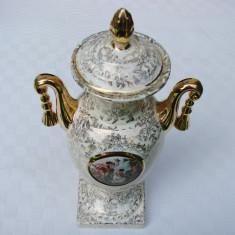 Impresionanta cupa din portelan englezesc model Empire, Decorative