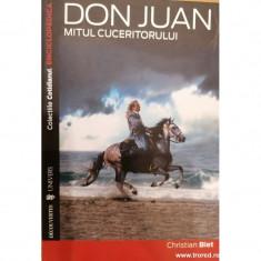 Don Juan. Mitul cuceritorului. Enciclopedica