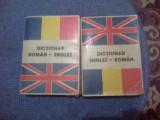 W0d Dictionar englez roman , roman englez (557 pag si 566 pag)