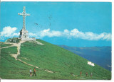 @carte postala-MUNTII BUCEGI-Crucea de pe Caraiman