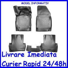 Covorase tip tavita cauciuc moale fara miros Audi A3 8V/8VA 2012-> AL-121119-20