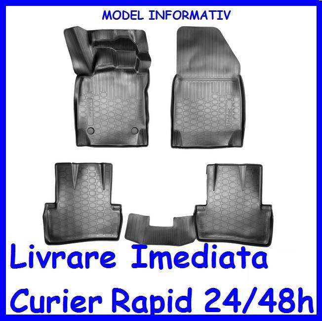 Covorase tip tavita cauciuc moale fara miros Toyota RAV4 2005-2013 AL-111119-17