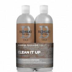 Set Bead Head Men Clean Up: Sampon, 750ml+ Balsam, 1500 ml