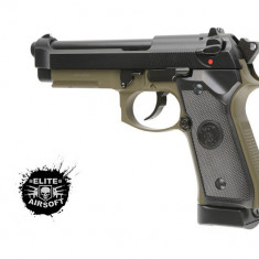 Pistol airsoft M9A1 CO2 -Olive-[KJW]