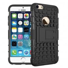 Cumpara ieftin Husa Apple iPhone 7iPhone 8iPhone SE 2020 Forcell Hybrid Panzer Neagru