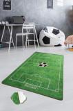 Mocheta pentru camera copilului, Chilai, model Footbal (140 X 190cm) , polipropilena, Chilai Home by Alessia