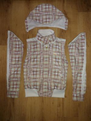 Jachetă damă Puma cu glugă si mâneci detașabile / vestă mărimea XS foto