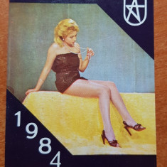 Calendar de buzunar 1984 - adesgo