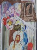 Arta / colaj/pastel /acuarela, Fridolin