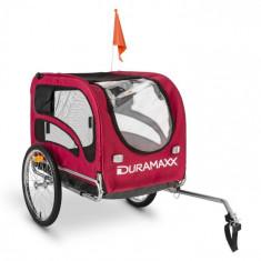 DURAMAXX King Rex, 250 l, cărucior de bicicletă pentru câine, țevi din oțel, 40 kg