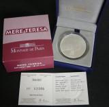 Moneda10 Euro Argint 2010 Franta 100 de ani de naștere a Maicii Tereza