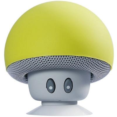 Boxa Portabila Bluetooth iUni DF17, Microfon, Apeluri Handsfree, Galben foto