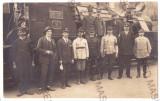 240 - TUSNAD, Harghita locomotive, train - old postcard real PHOTO - unused 1926