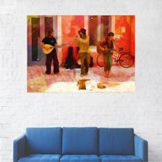 Tablou Canvas, Pictura Artistica, Arta de Strada - 80 x 100 cm