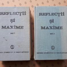 REFLECTII SI MAXIME  × 2volume