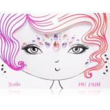 Snails Face Tattoo tatuaj facial Jewel Queen