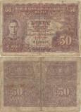 1945, 50 cents (P-10b) - Malaya!