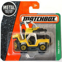 Masinuta metalica Four X Force Matchbox