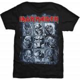 Tricou Unisex Iron Maiden: Nine Eddies