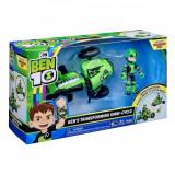 Cumpara ieftin Set de joaca Ben 10, Vehicul extraterestru cu figurina - Ben Transforming Omny-Cycle